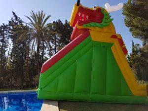Alquiler de castillo hinchable Málaga